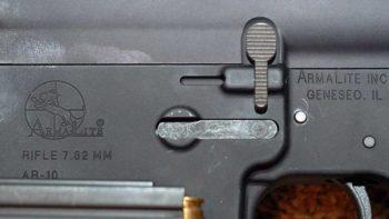 Authentic Armalite AR-10 with AR-10 Rollmark
