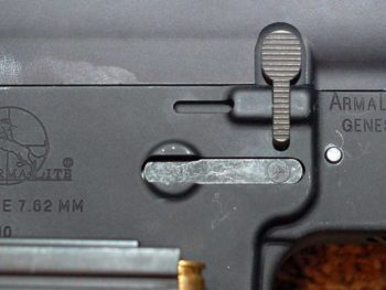 Authentic Armalite AR-10 with AR-10 Rollmark