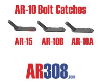 Armalite Magazine Catches AR-10A VERSUS AR-10B