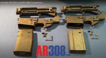 Armalite AR-10A vs AR-10B